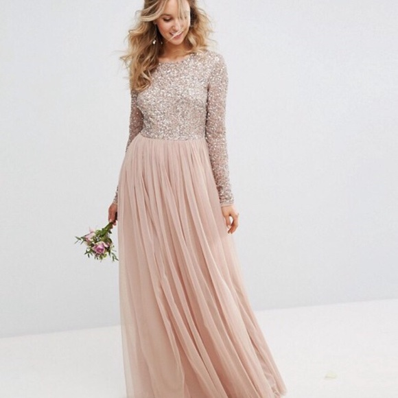 80f1c517 ASOS Dresses | Maya Long Sleeved Maxi Dress | Poshmark